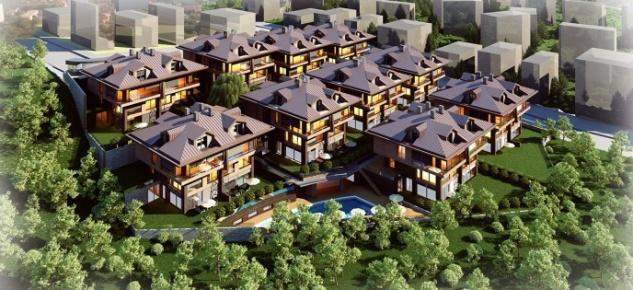 Boğaz manzaralı Therra Park Tarabya villaları görücüye çıktı