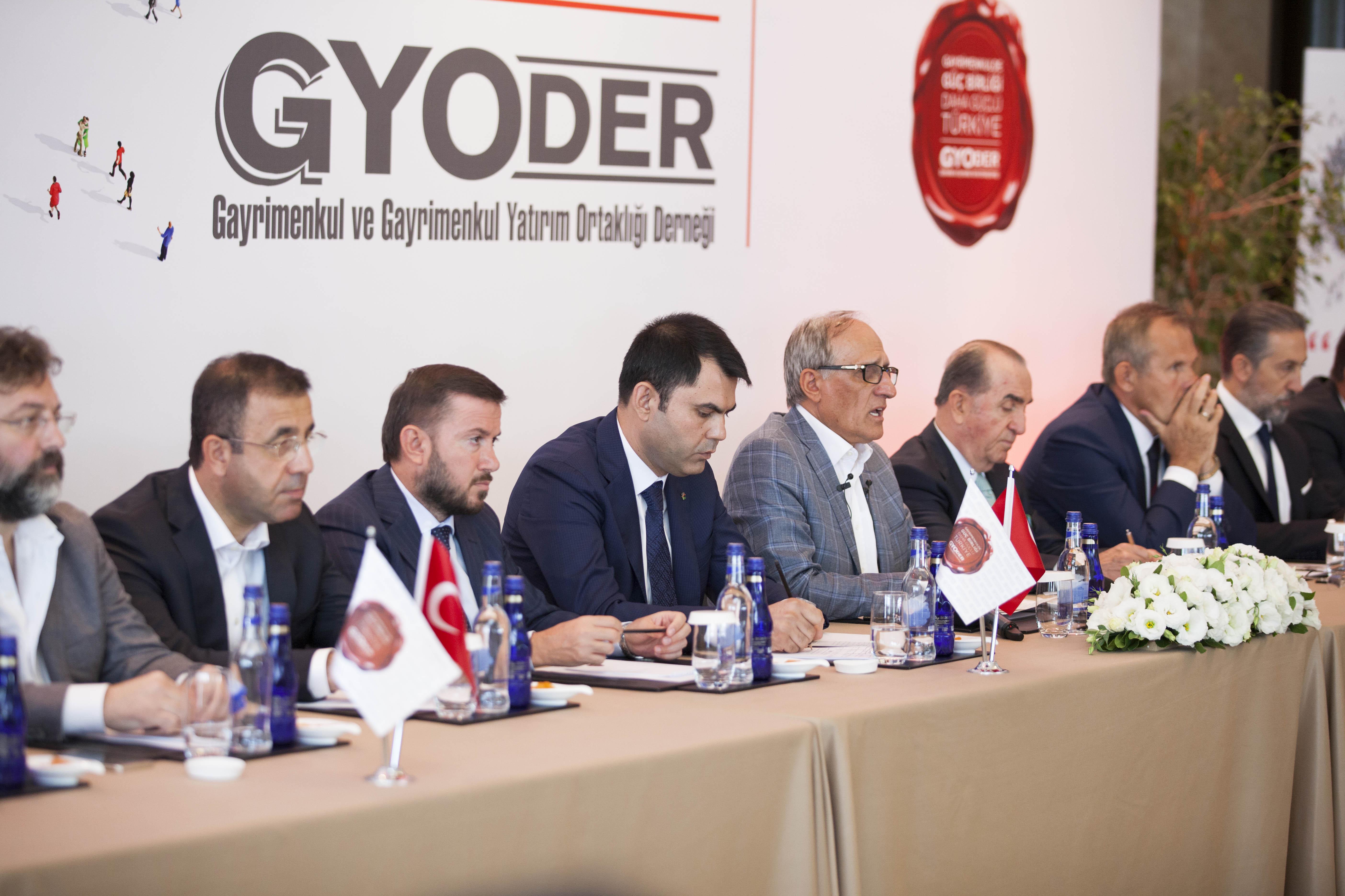 GYODER, Katarlı yatırımcıları Türkiye'de gayrimenkul yatırımına davet ediyor