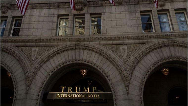 Trump'ın Washington'daki 263 odalı lüks oteli açıldı