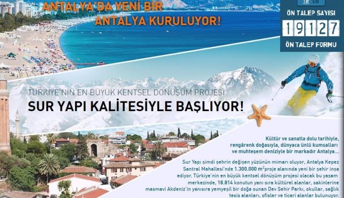 Türkiye'ninen büyük dönüşüm projesindegeri sayım başladı!