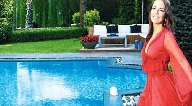 Bengü Acarkent'teki villasının kapılarını açtı