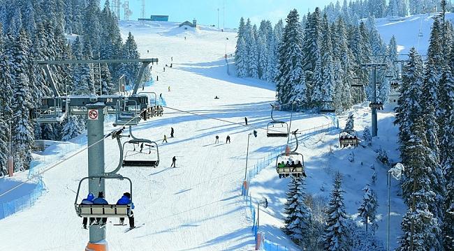 Efsane Köroğlu Dağlarında kayak keyfi