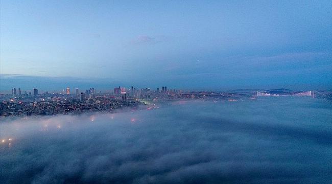 İstanbul havadan böyle görüntülendi