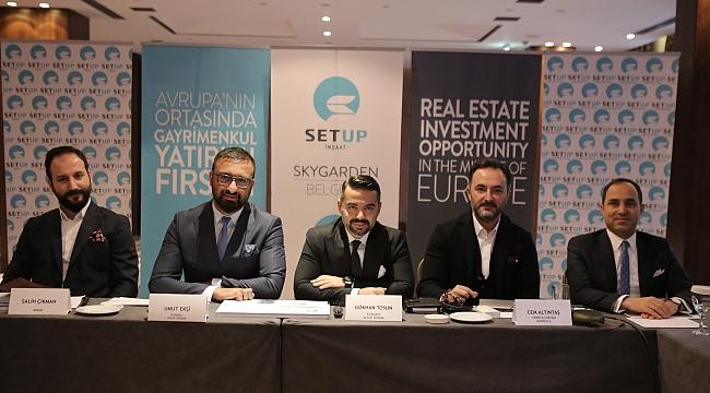 SETUP İnşaat'tan Sırbistan'ın başkenti Belgrad'a İnşaat Alanında İlk ve En Büyük Yatırım