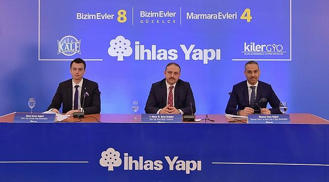 İHLAS YAPI 3 YENİ PROJESİNİ LANSE ETTİ