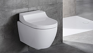 Geberit AquaClean Tuma ile banyolar sade ve zarif