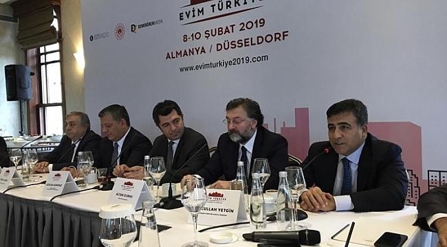 Almanya'da yaşayan gurbetçiler için Evim Türkiye gayrimenkul fuarı başlıyor