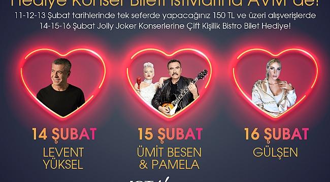 İstMarina AVM'den Sevgililer Günü'ne Özel Hediye Konser Bileti