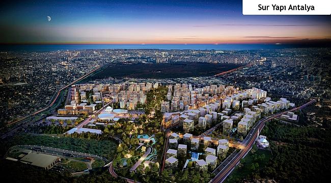 Sur Yapı fark yaratan projeleriyle Arap - Türk Gayrimenkul Fuarı'nda