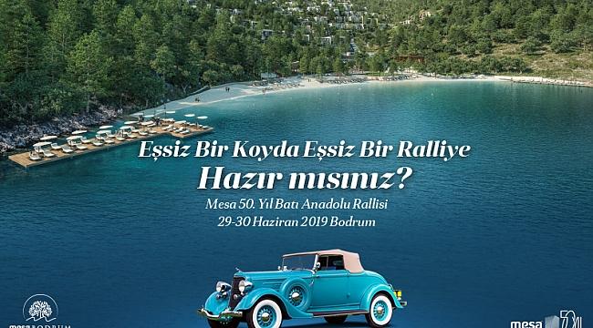 MESA 50. Yıl Batı Anadolu Rallisi 29 Haziran'da Başlıyor
