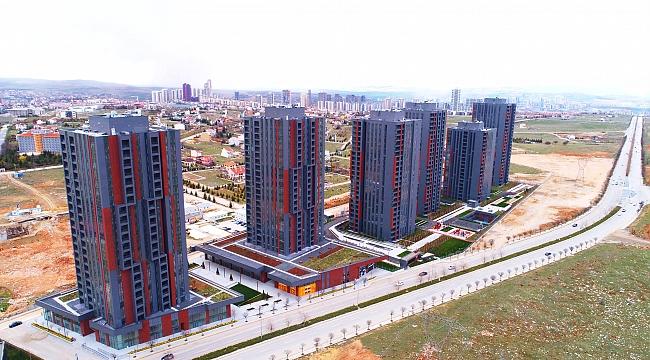 Konut satışlarını yüzde 15,2 artıran Başkent Ankara'daki Bulvar Loft projesinde kiralama hareketliliği