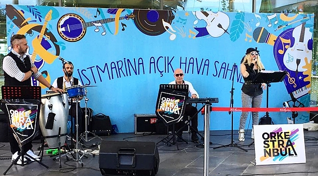 """""""İstMarina AVM'de güvenli sosyal yaşam devam ediyor"""