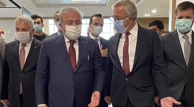 Türkiye Büyük Millet Meclisi Başkanı Mustafa Şentop, hizmete girmek için gün sayan Tekirdağ Şehir Hastanesi'ni ziyaret etti