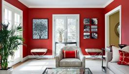 En Şık Kırmızı Salonlar