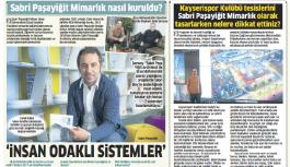 Sabri Paşayigit ' İnsan Odaklı Sistemler geliştiriyoruz'